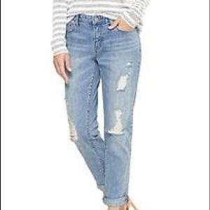 Gap Sexy Boyfriend Fit Distressed Jeans